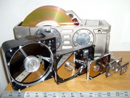Primele HDD-uri